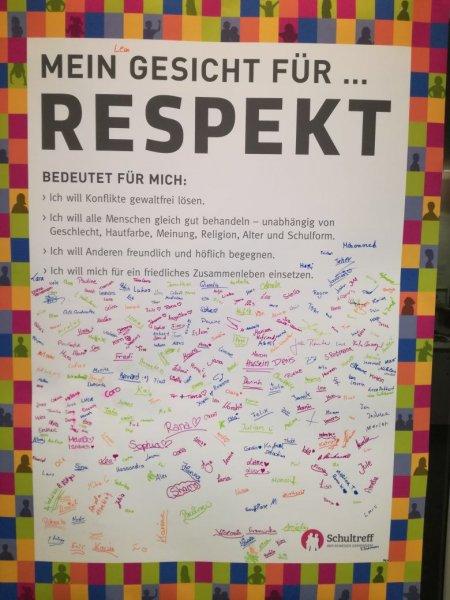 """Die """"Charta für Respekt"""""""