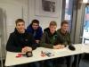 """Schüler von allen 3 Schulen helfen bei """"Mein Gesicht für Respekt"""" gemeinsam"""