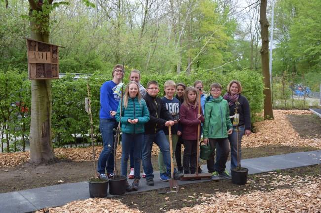 Schulgarten Realschule Wolbeck 2015