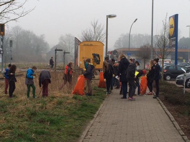 SV Aktion 2015 sauberes Münster